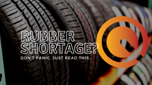 Rubber shortages on route?